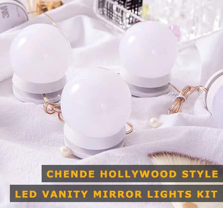 Featured Image of Chende Hollywood Style LED Vanity Mirror Lights Kit