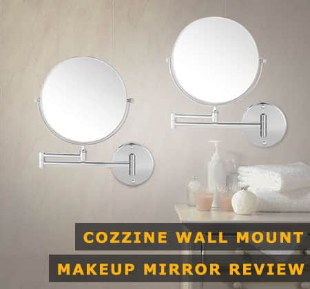 Featured Image of Cozzine Wall Mount Makeup Mirror
