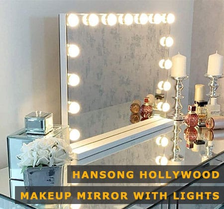 Featured Image of Hansong Hollywood Makeup Mirror With Lights
