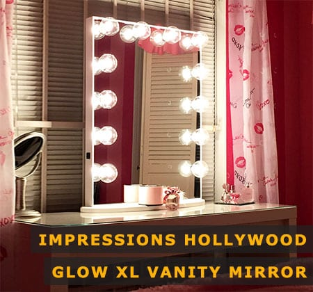 Featured Image of Impressions Hollywood Glow Xl Vanity Mirror