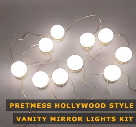 Featured Image of Pretmess Hollywood Style Vanity Mirror Lights Kit